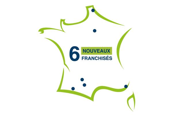 Six nouveaux franchisés Repar´stores en mars !